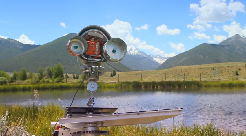 Stone Skipping Robot Innovation + Earned Media