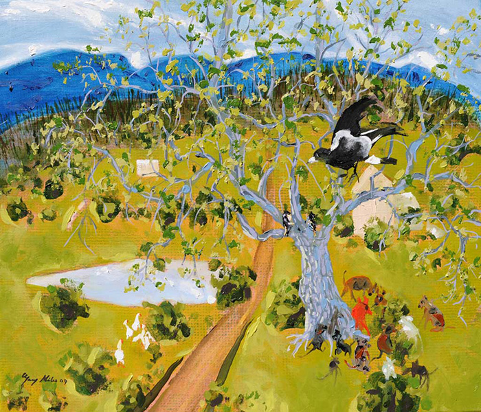Farmer Rodneys Oak Tree Meeting