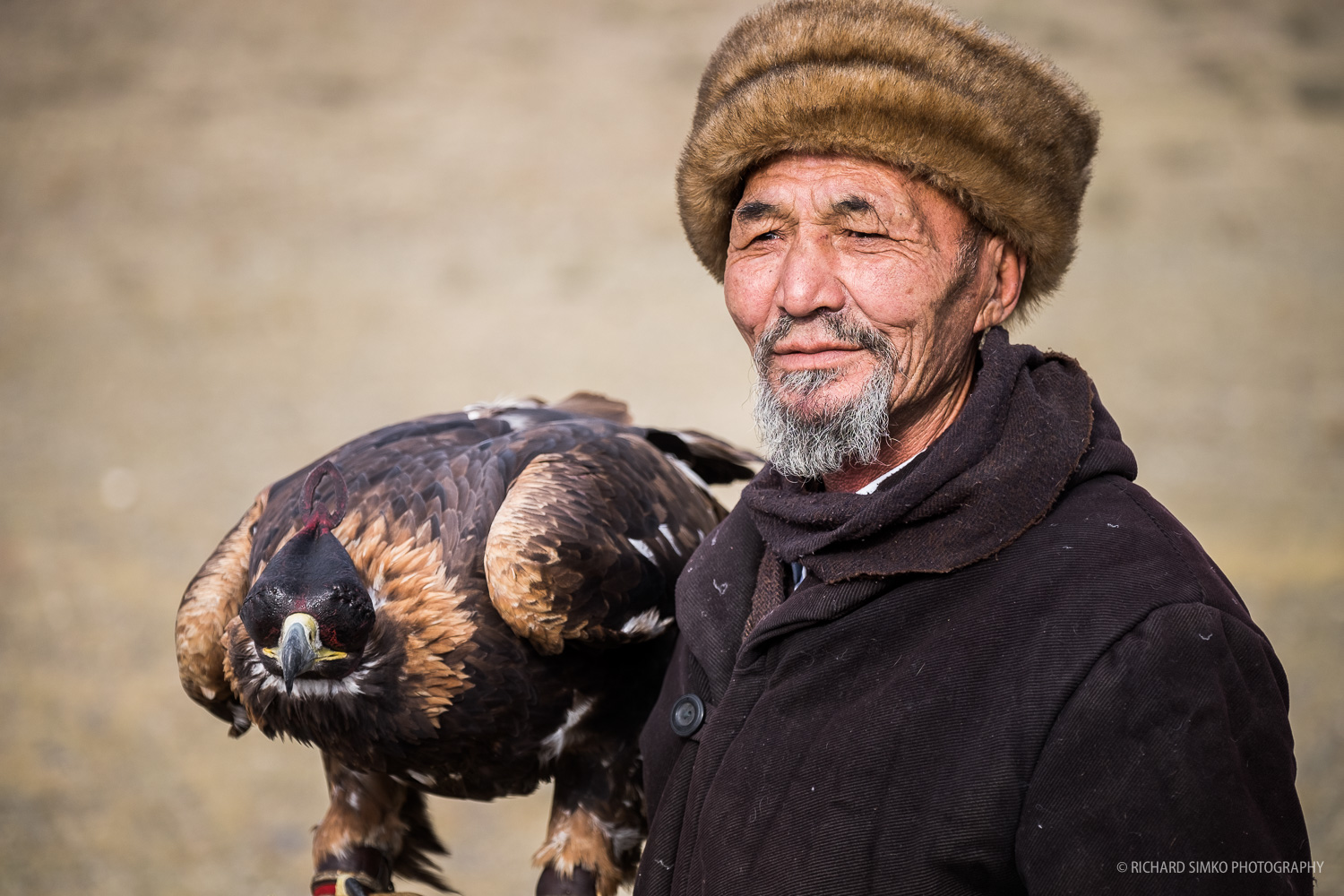 This eagle hunter's outfit was different from others