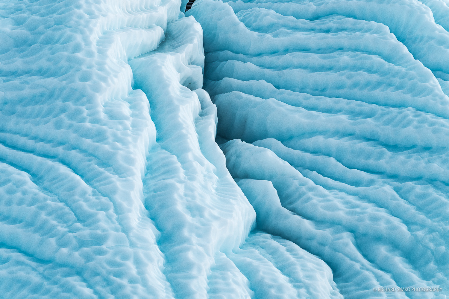 An iceberg detail.
