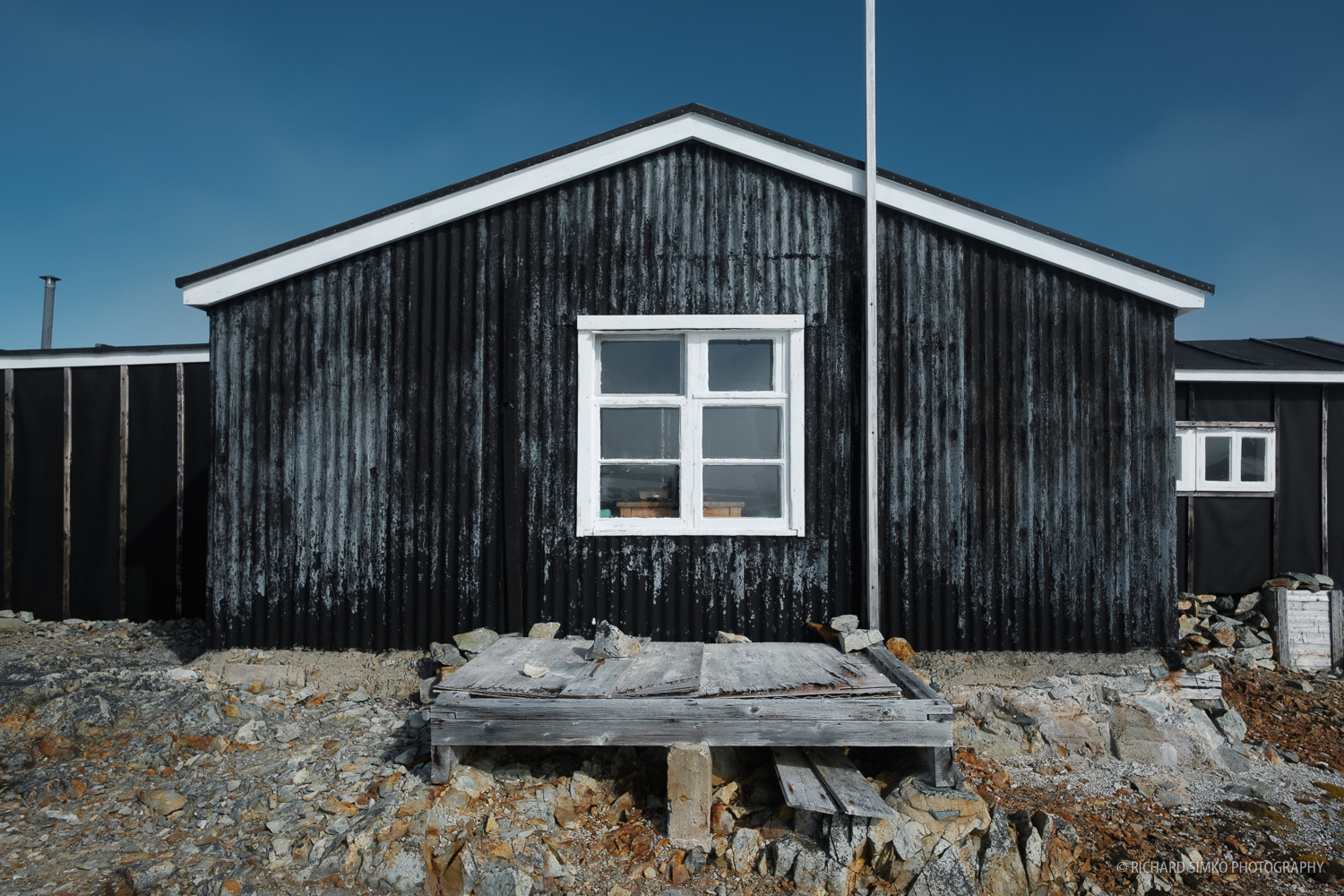 An Antarctic museum : Wordie House