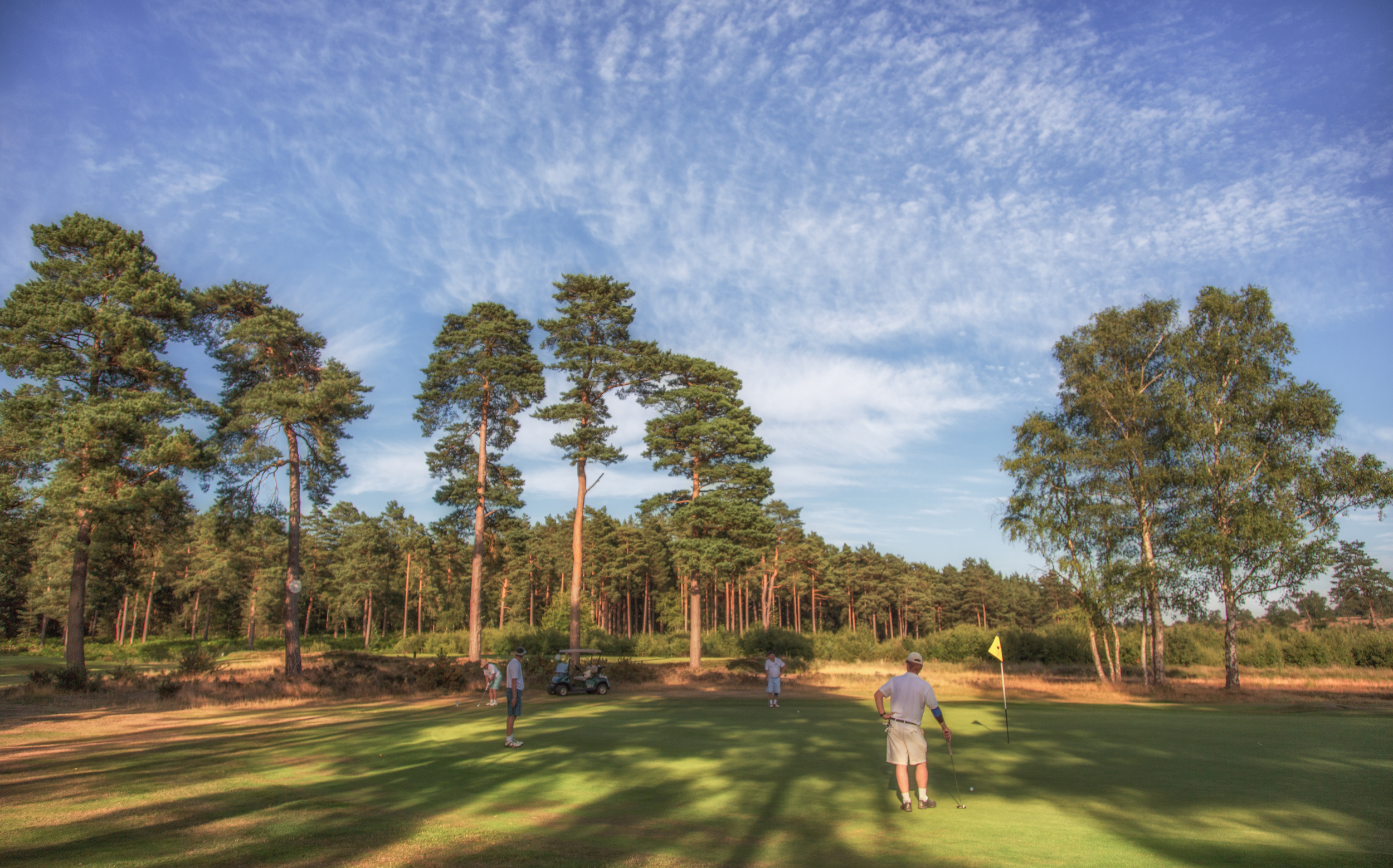Hankley Common GC 3rd Hole Green