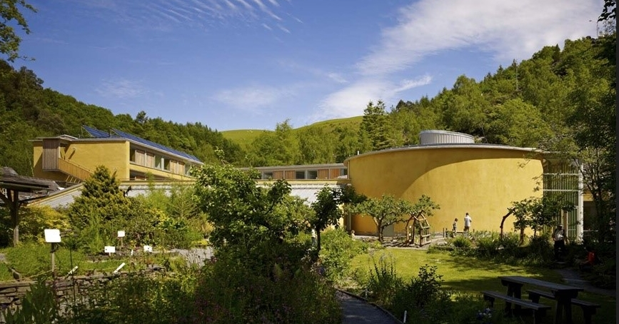 Buildings of the Wales Institute for Sustainable Education, CAT, Mid-Wales