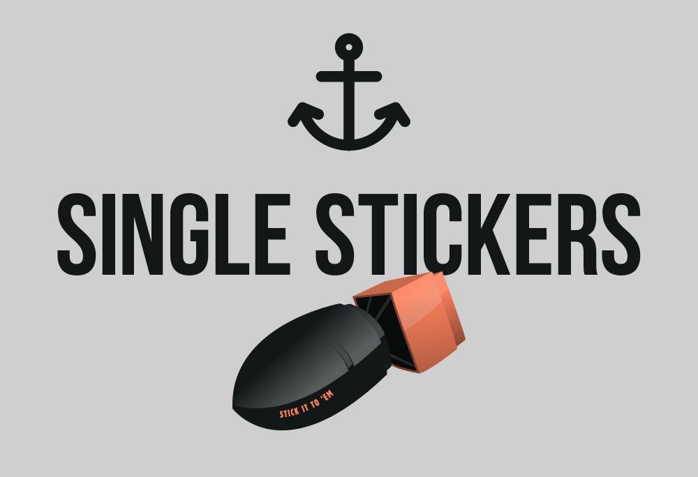 Single Stickers