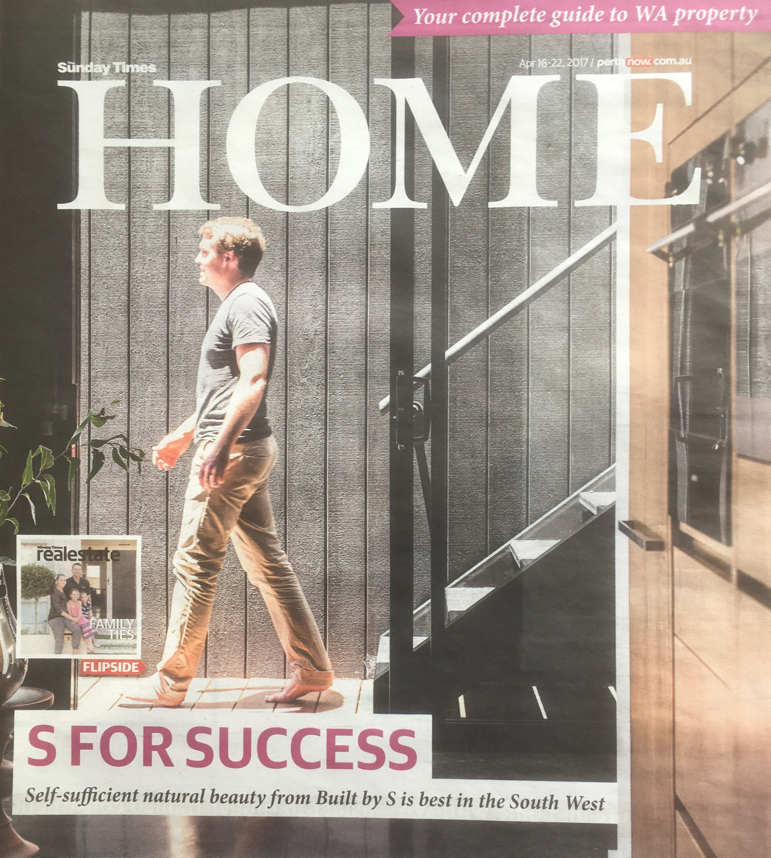 Sunday Times - Home Magazine   Western Australia  April 16 2017 , Easter Weekend