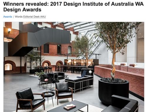 DIA Winners Announced 2017    Western Australia  December 2017