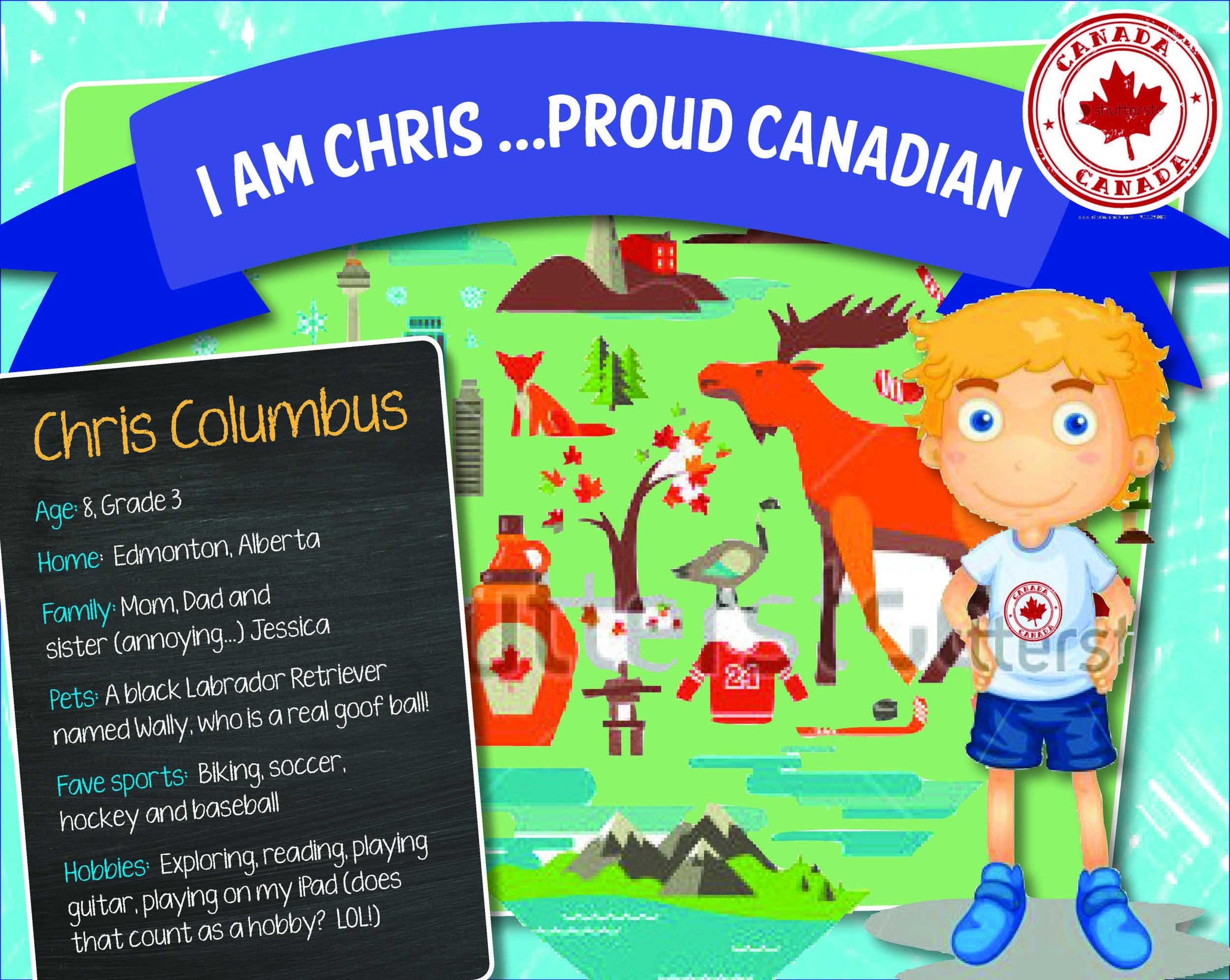 I am Chris...Proud Canadian