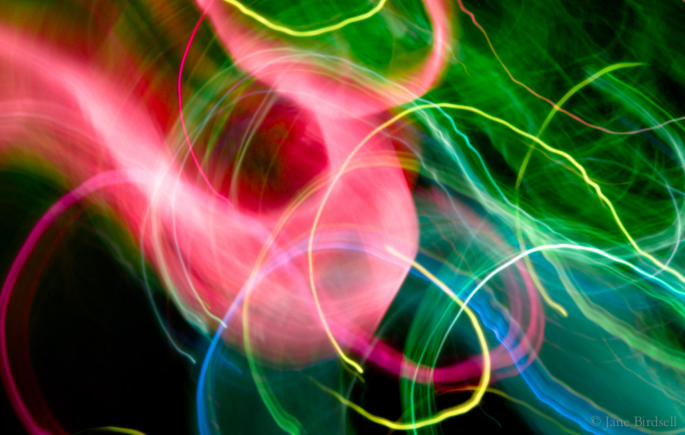 Neon ribbons: £75 (A3)