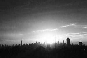 NYC Skyline shot from Triboro Bridge