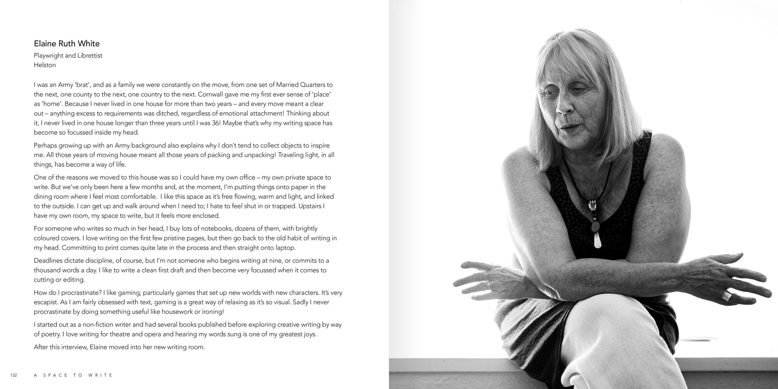 Internal spread - Elaine Ruth White