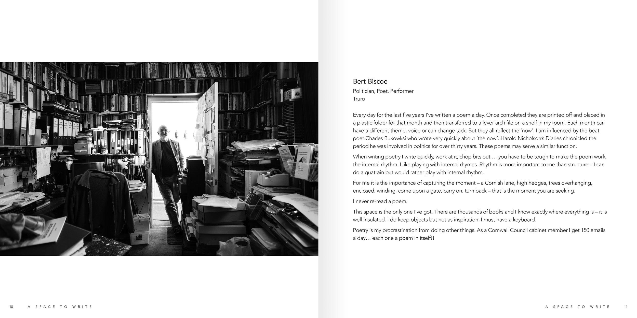 Internal spread - Bert Biscoe