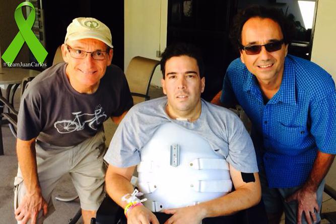 Michael Pelkey, Juan Carlos and Serge Issakov