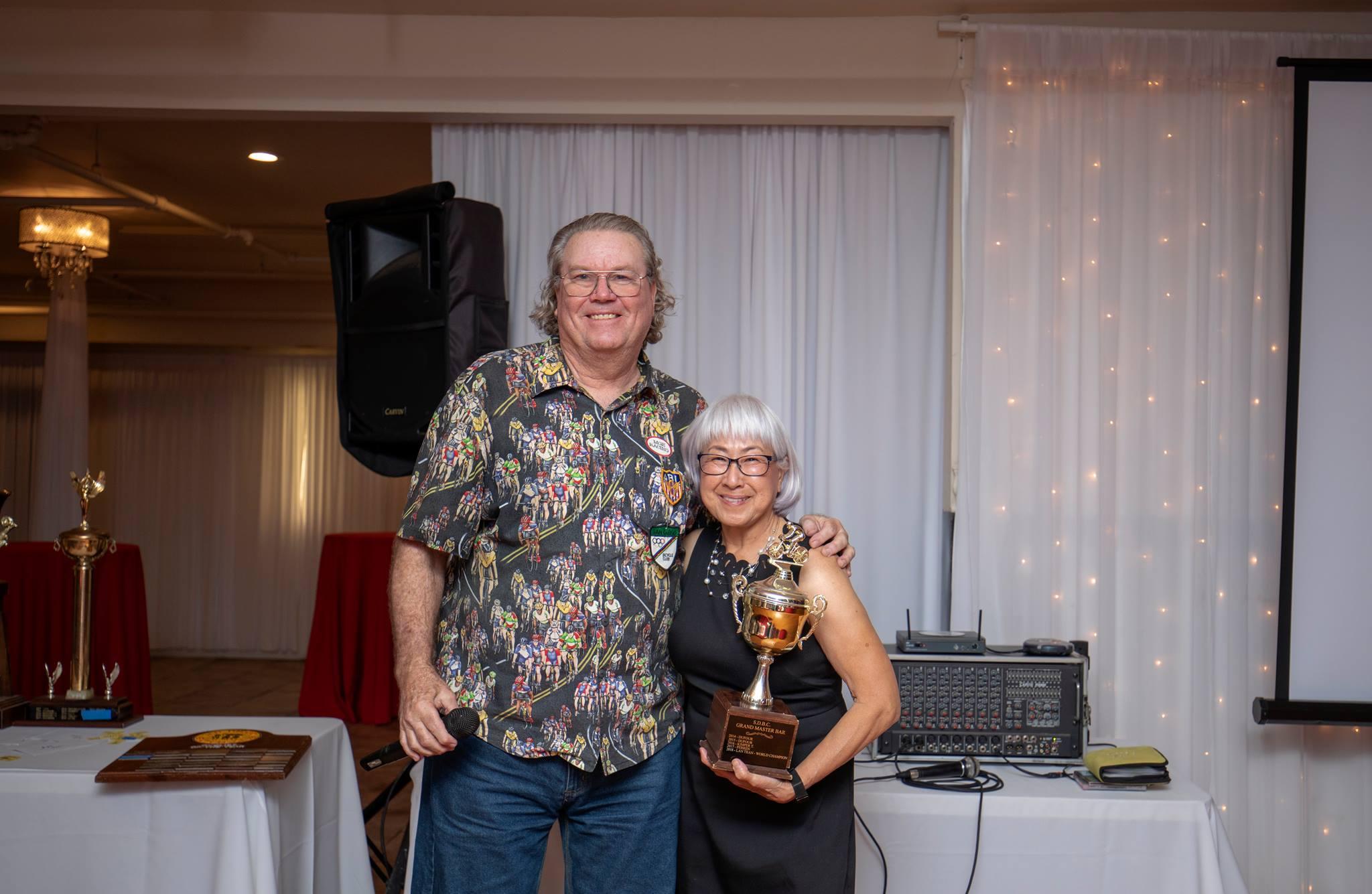 2018 Best Annual Rider - Grand Master (55+)