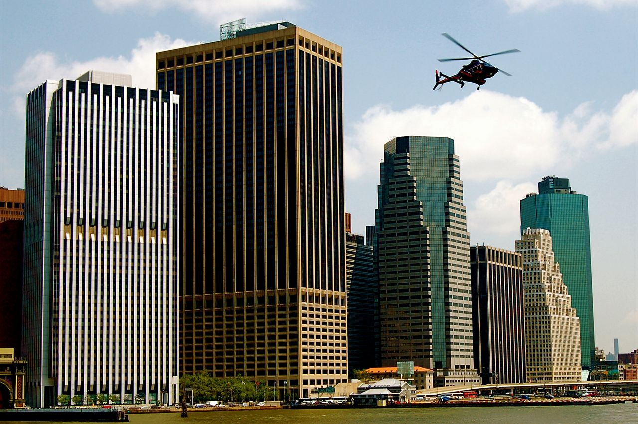Wall Street Heliport, NYC.