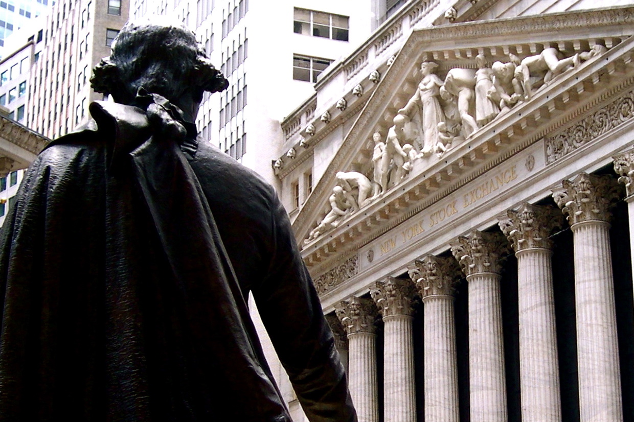 New York Stock Exchange, Wall Street, NYC.
