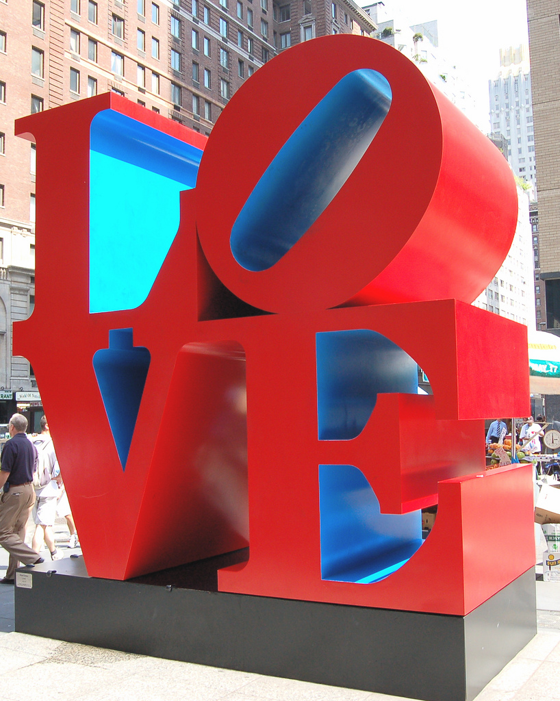 Love Statue, NYC.