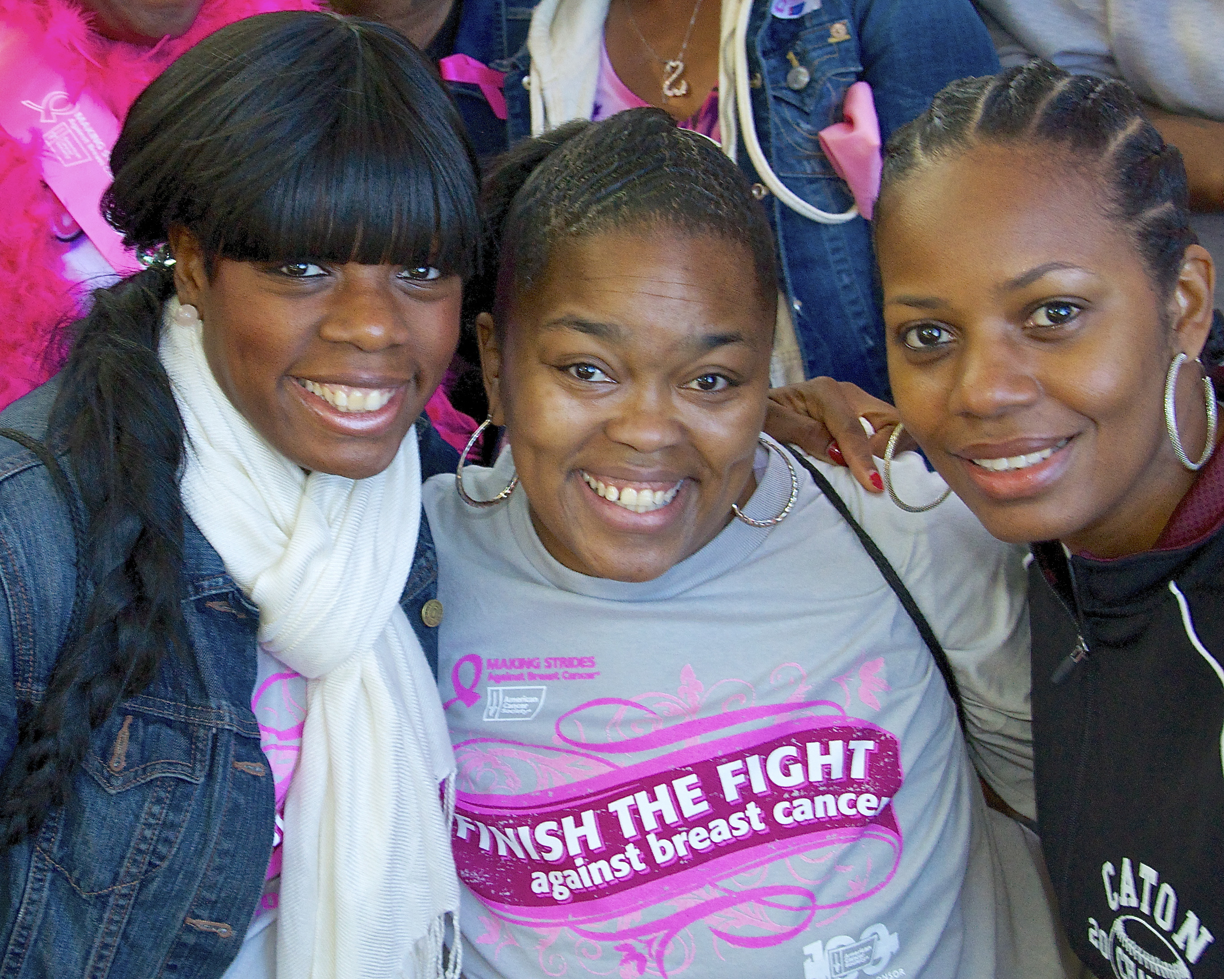 Making Strides Against Breast Cancer--Central Park, American Cancer Society, NYC.