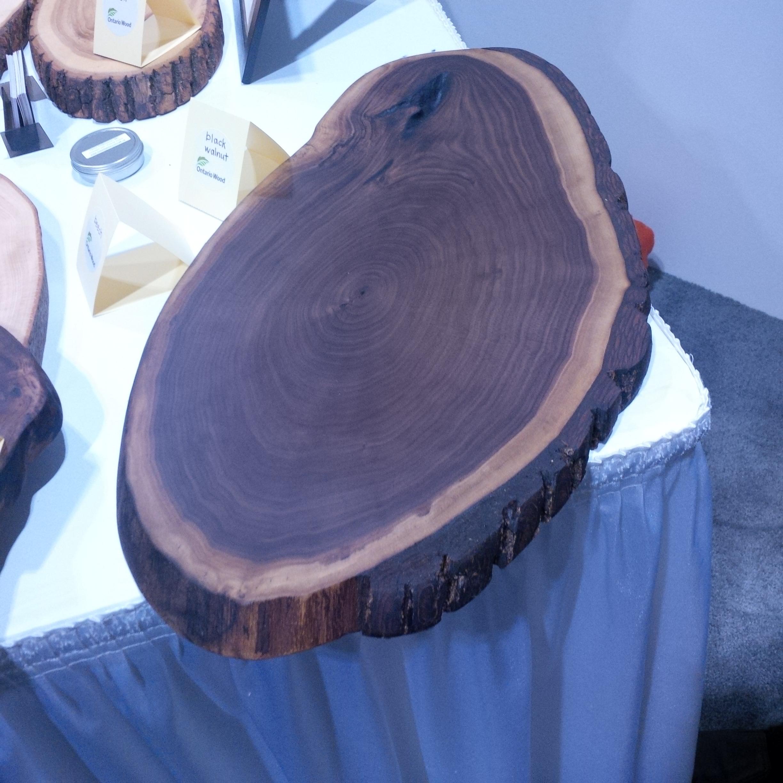 Walnut cutting board from Live Edge Woodcraft