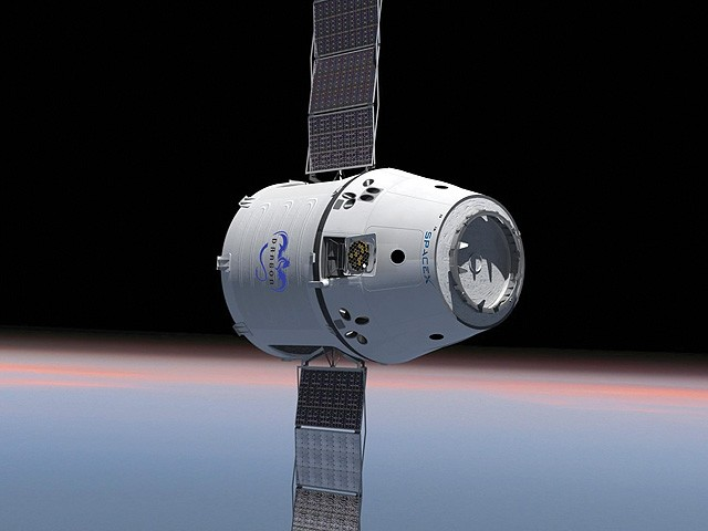 States Competing for SpaceX by Offering Financial Breaks    - Bloomberg News (Photo from SpaceX handout, via Bloomberg)