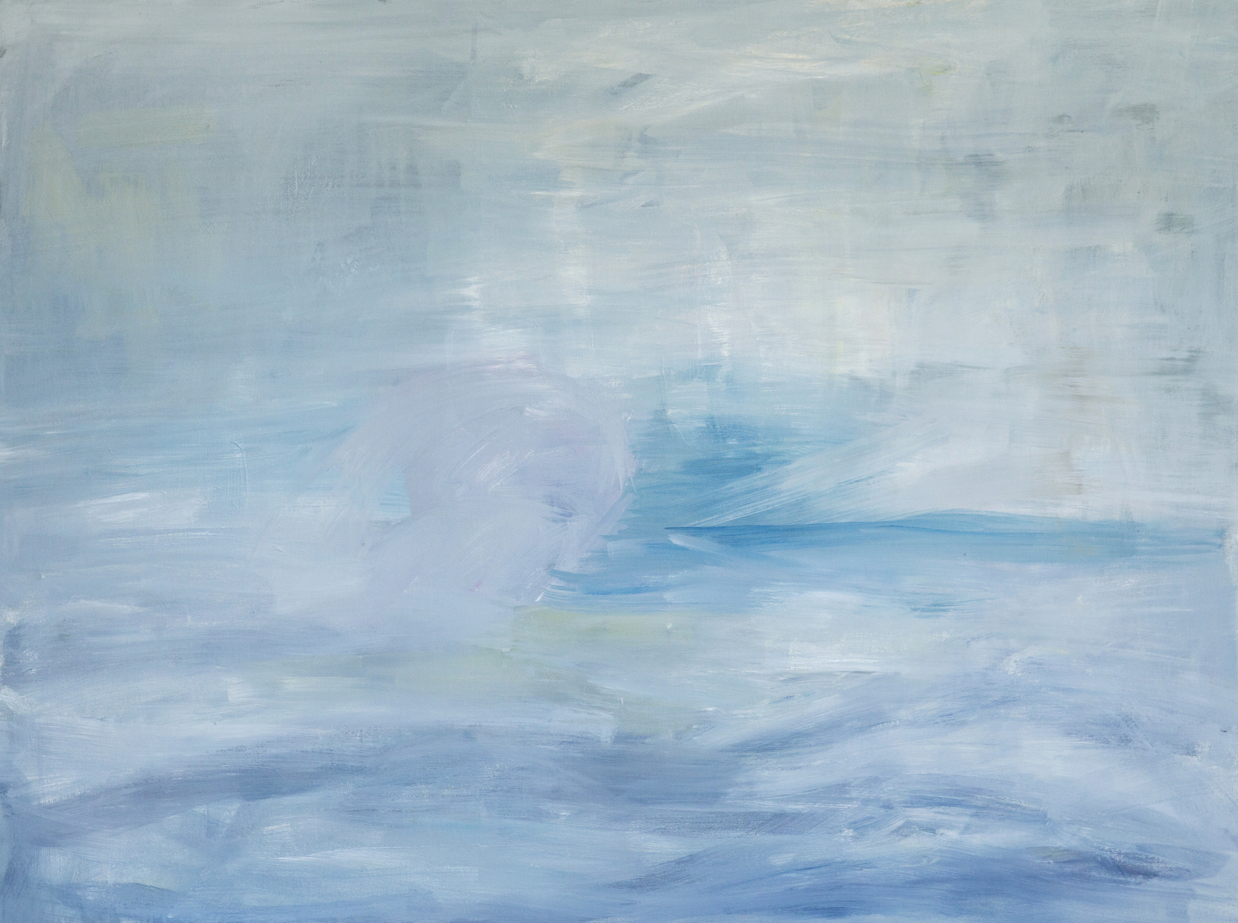 Blue  36 x 48 inches  acrylic on canvas