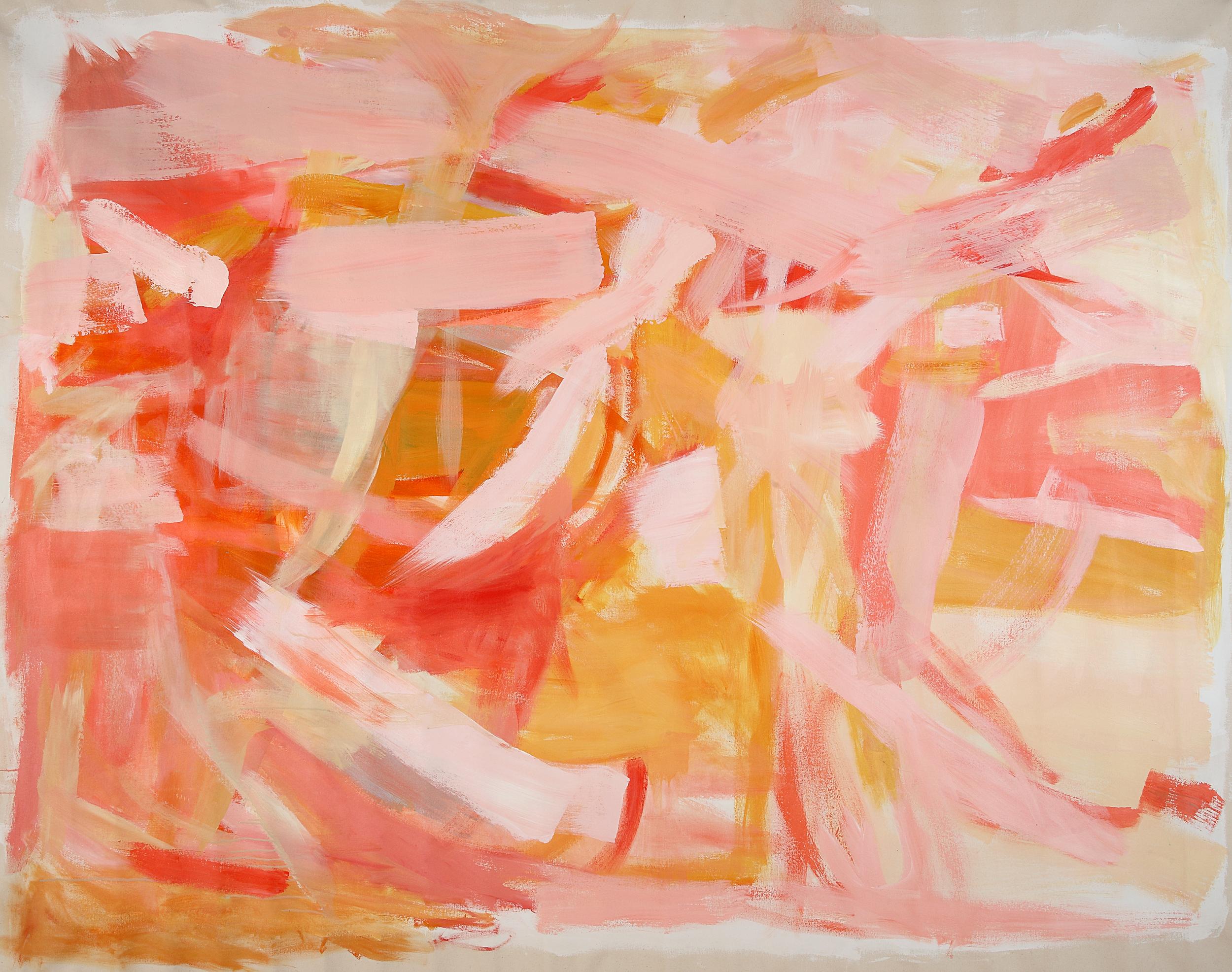 Orange  72 x 90inches  Acrylic on canvas