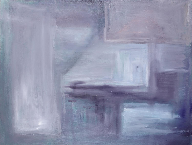 Tye Dye  36 x 48 inches  Oil on canvas