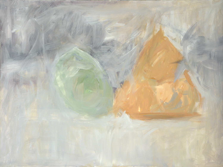 A Still Life  36 x 48 inches  Acrylic on canvas