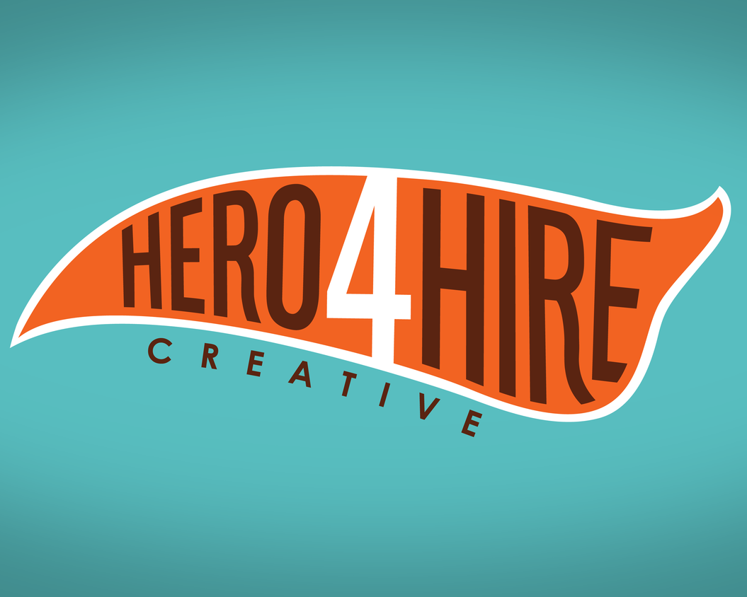 Hero 4 Hire Creative is Allison Kramer, Evan Sussman, Adrian Garcia, and Jim Soper