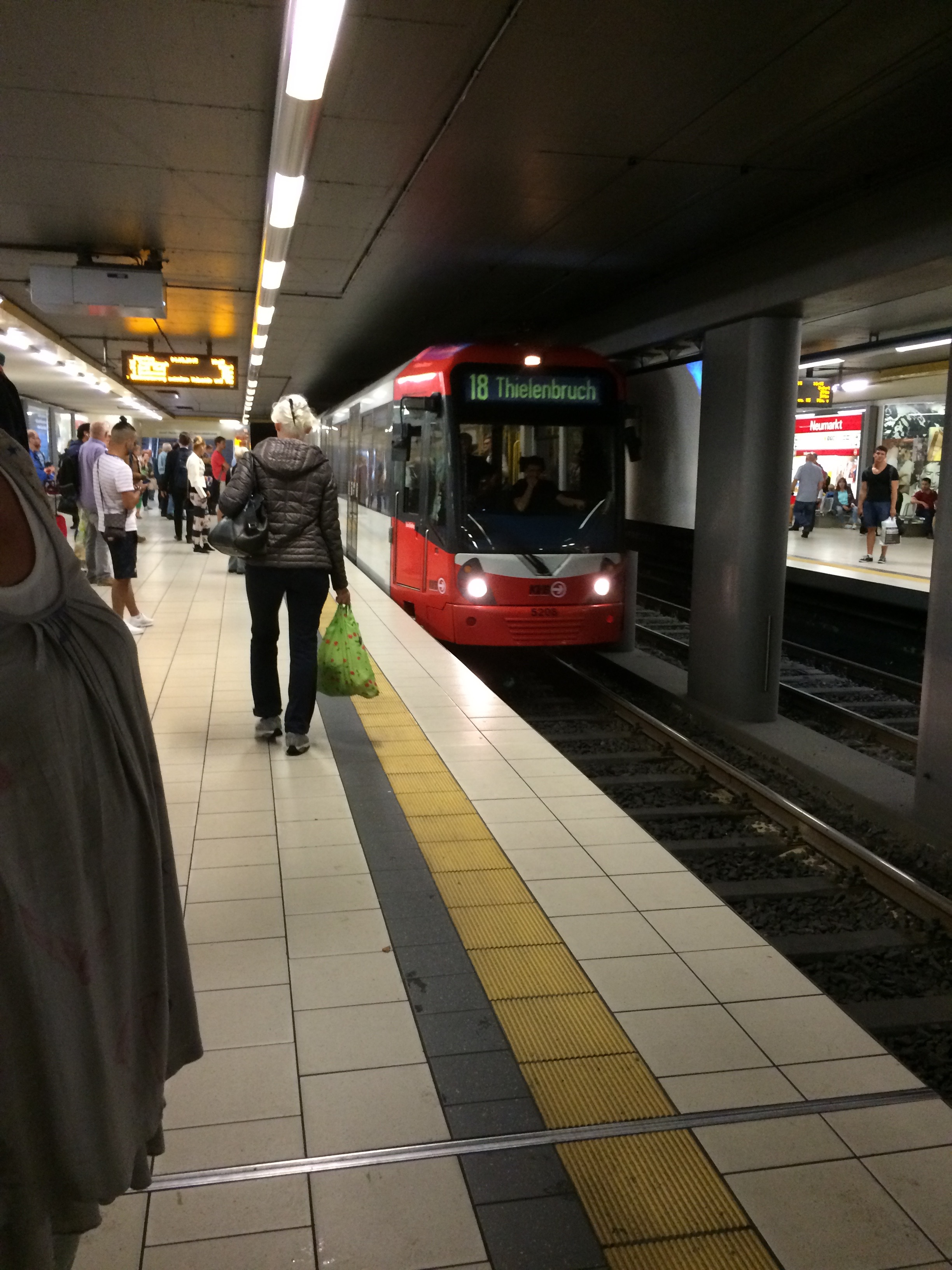 Subway in Cologne