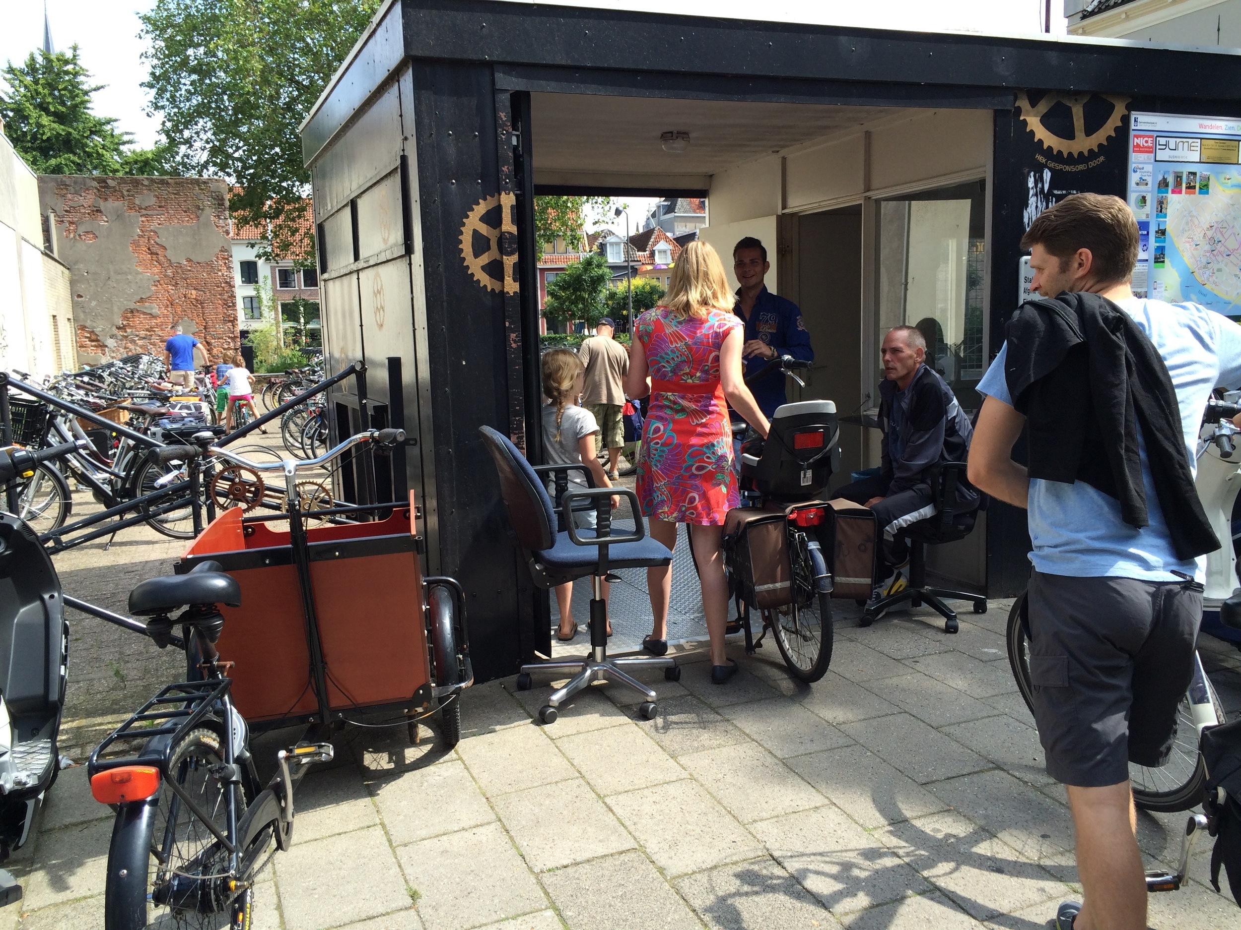 Bike station, Deventer, Netherlands
