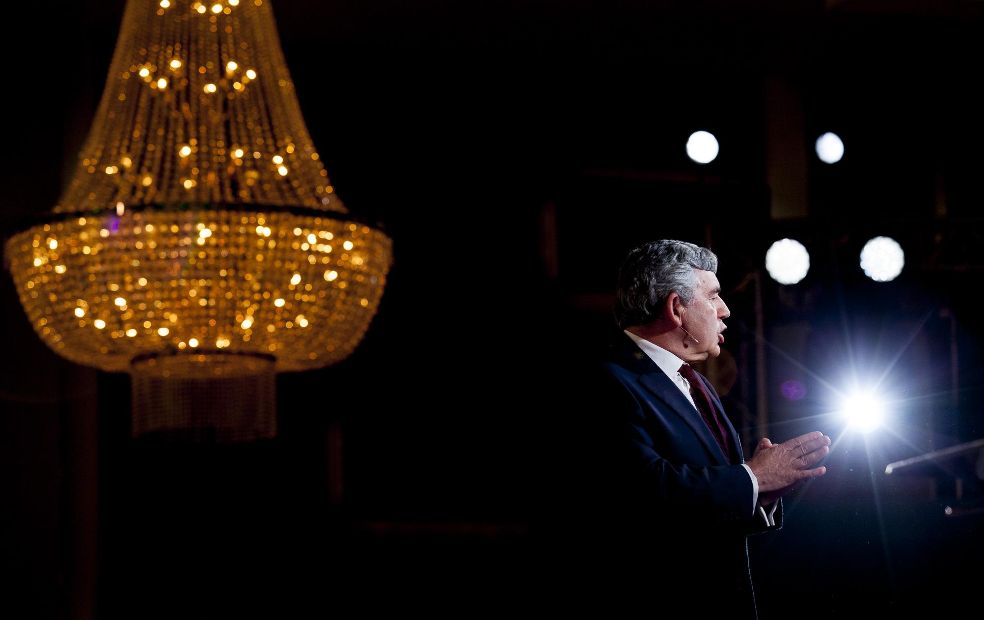 Former Prime Minister of England Gordon Brown