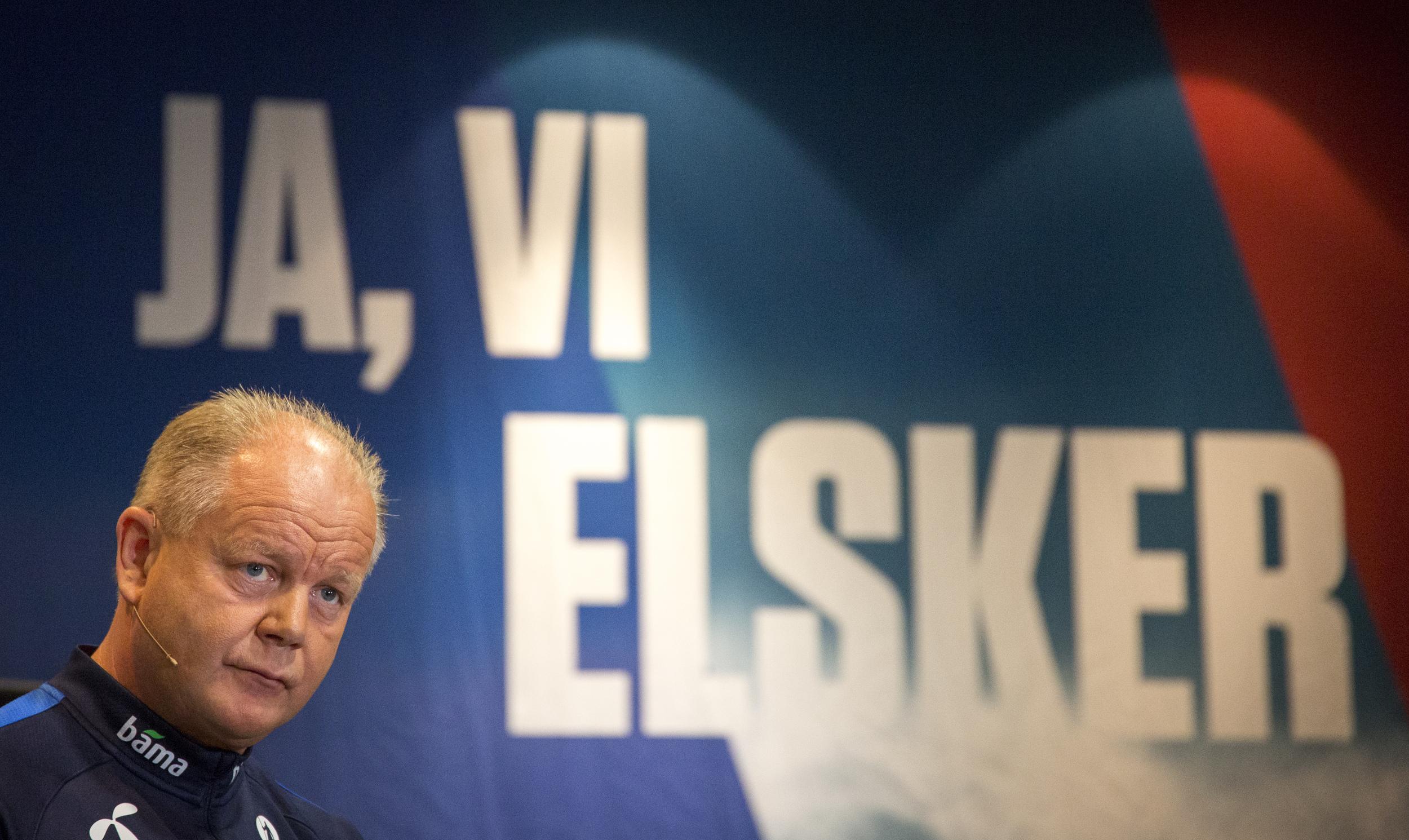 Coach for the Norwegian national football team Per-Mathias Høgmoe