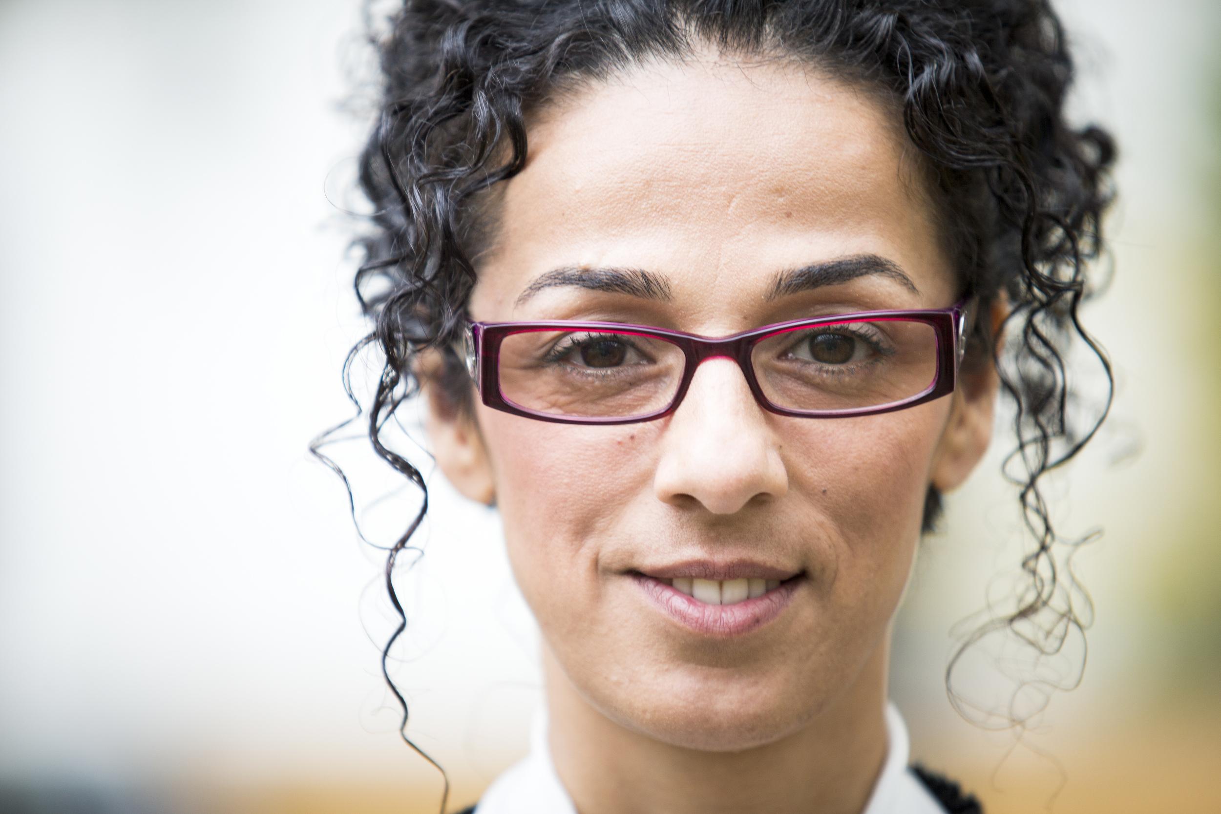 Iranian Facebook activist Masih Alinejad
