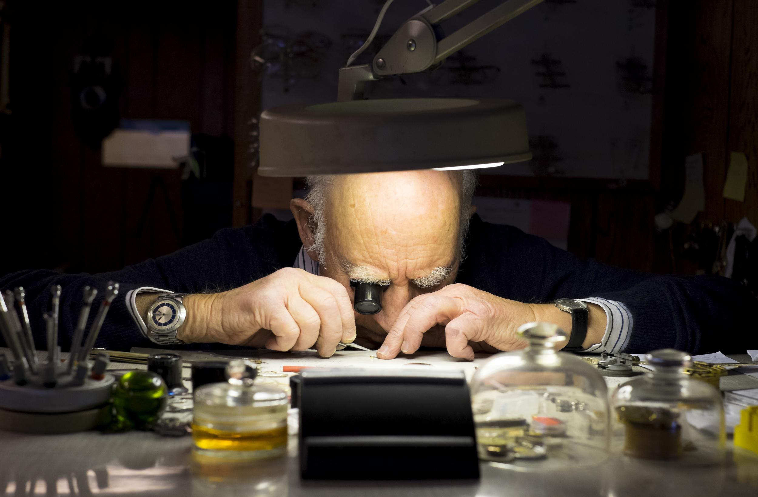 Watchmaker Thorbjørn Andersen