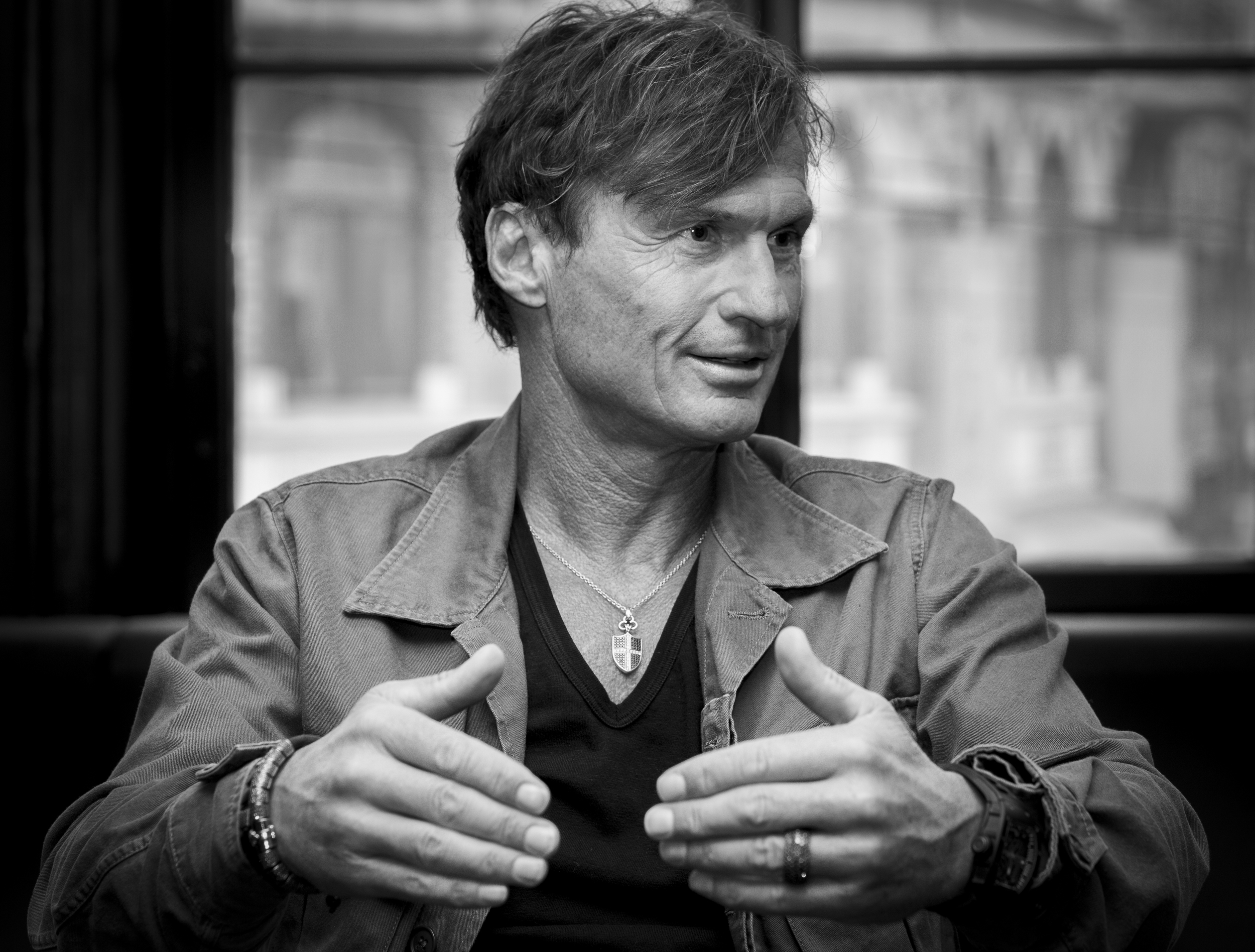 Hotel owner and billionaire Petter Stordalen
