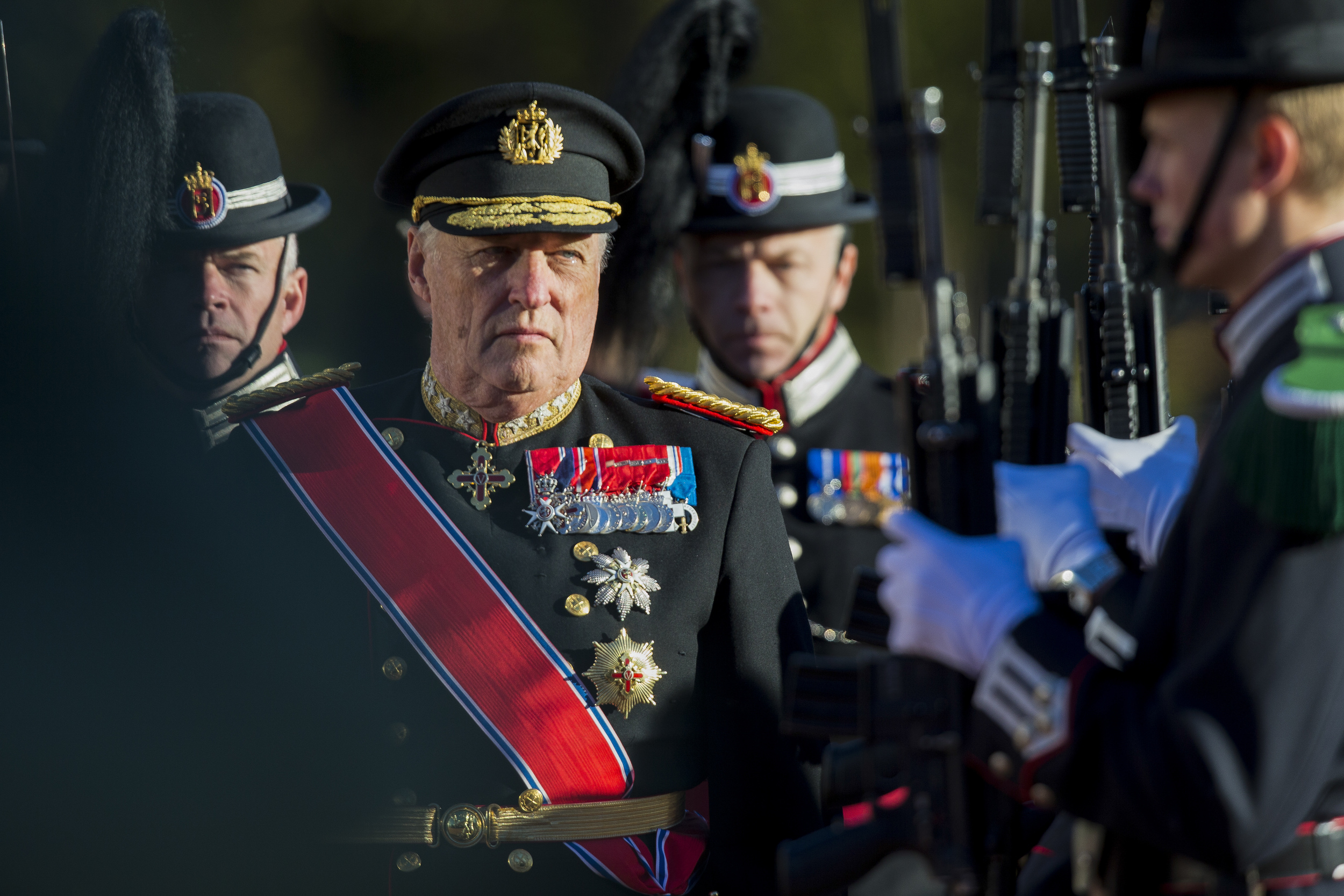 King of Norway Harald