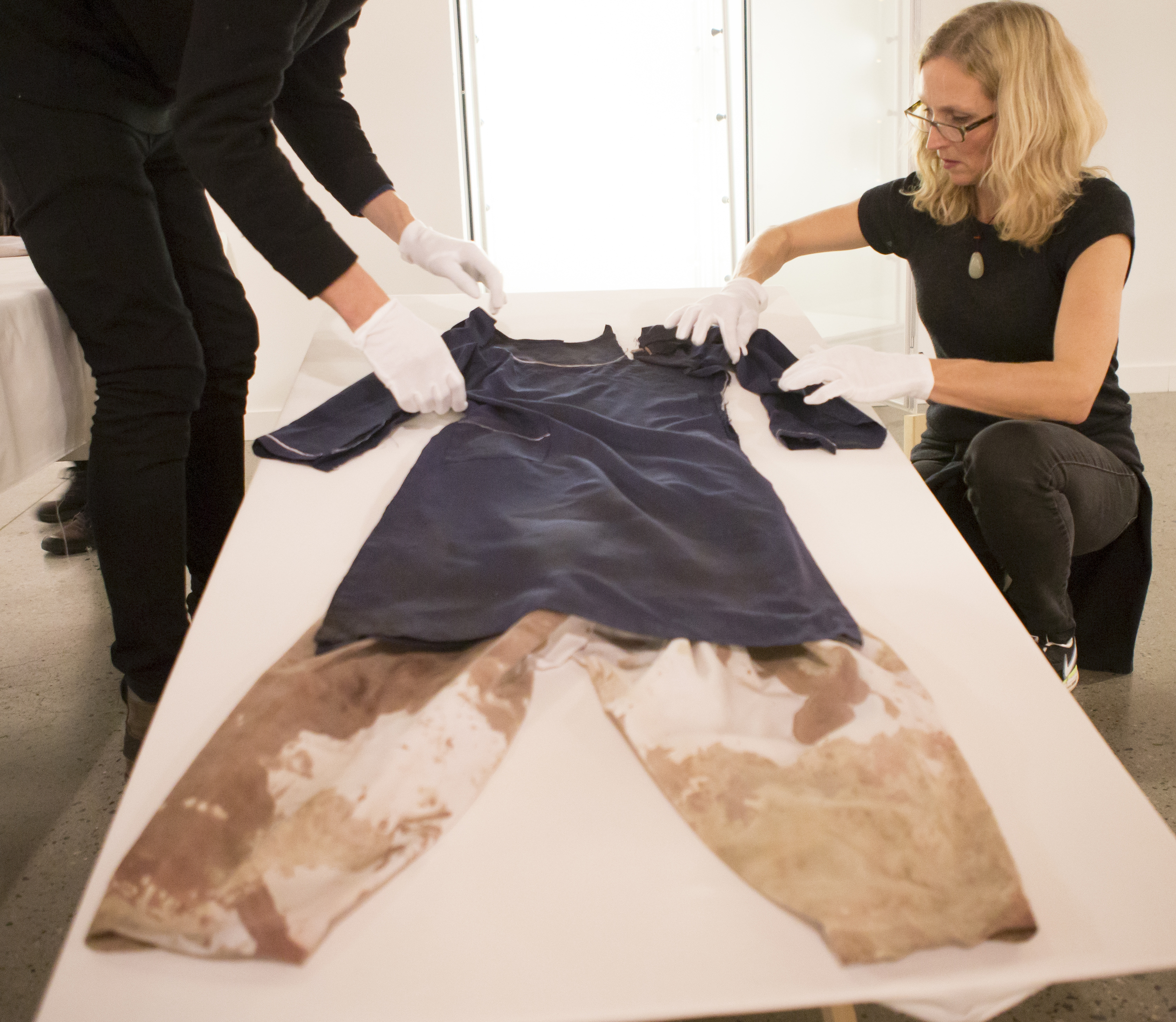The clothes that Nobel Peace Prize winner Malala Yousafzai was shot in