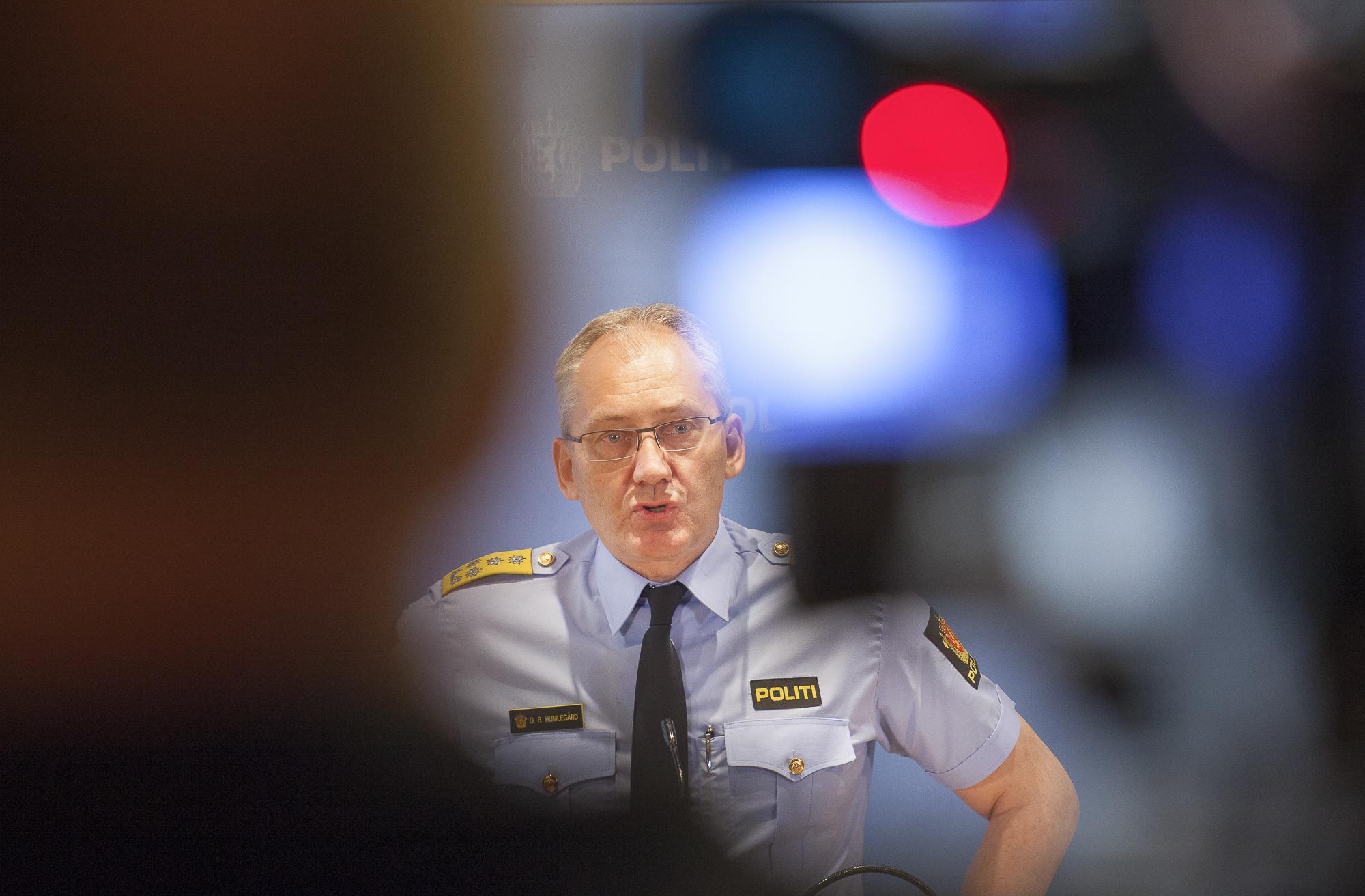 Police director Odd Reidar Humlegård