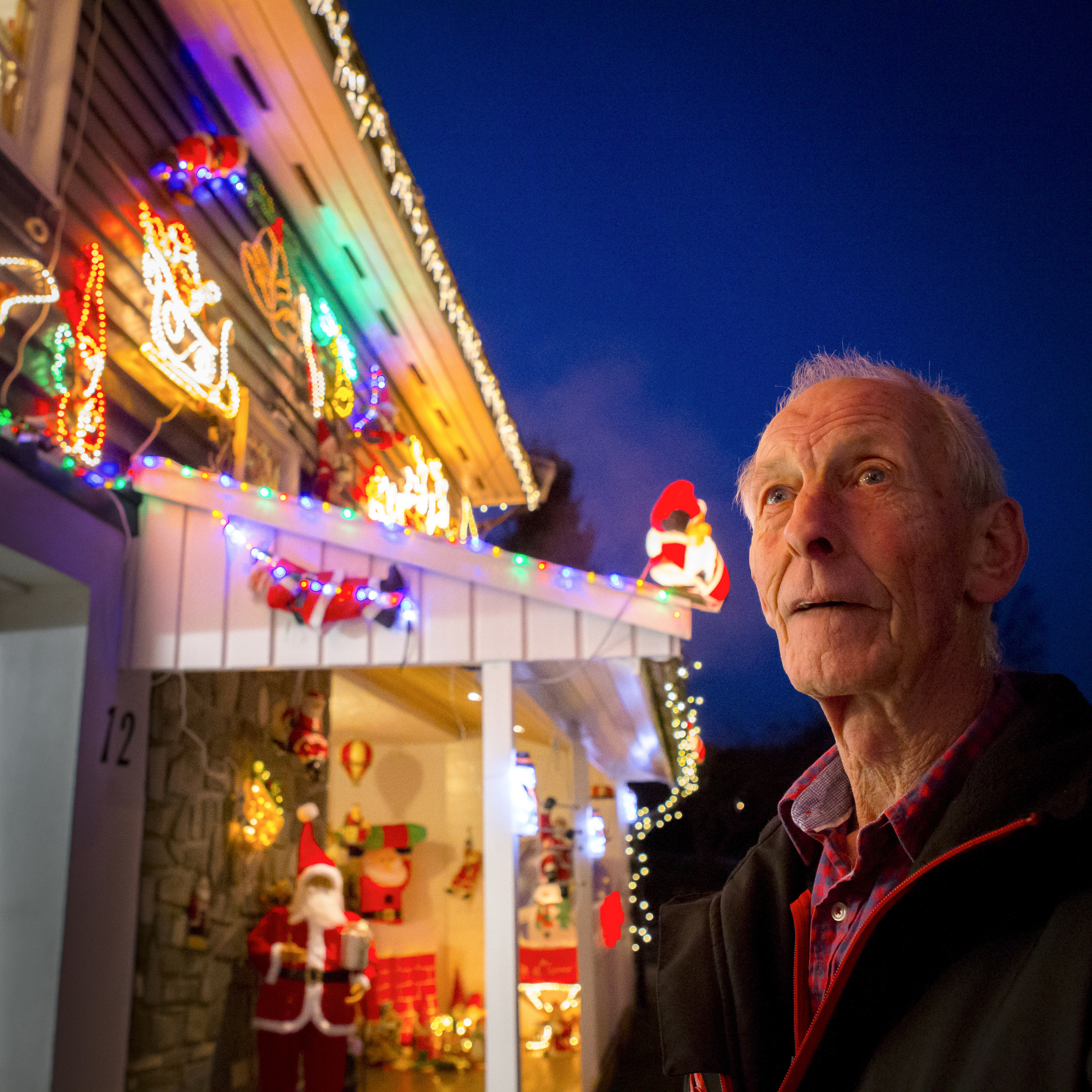 Owner of the Christmas house Tore Kristiansen