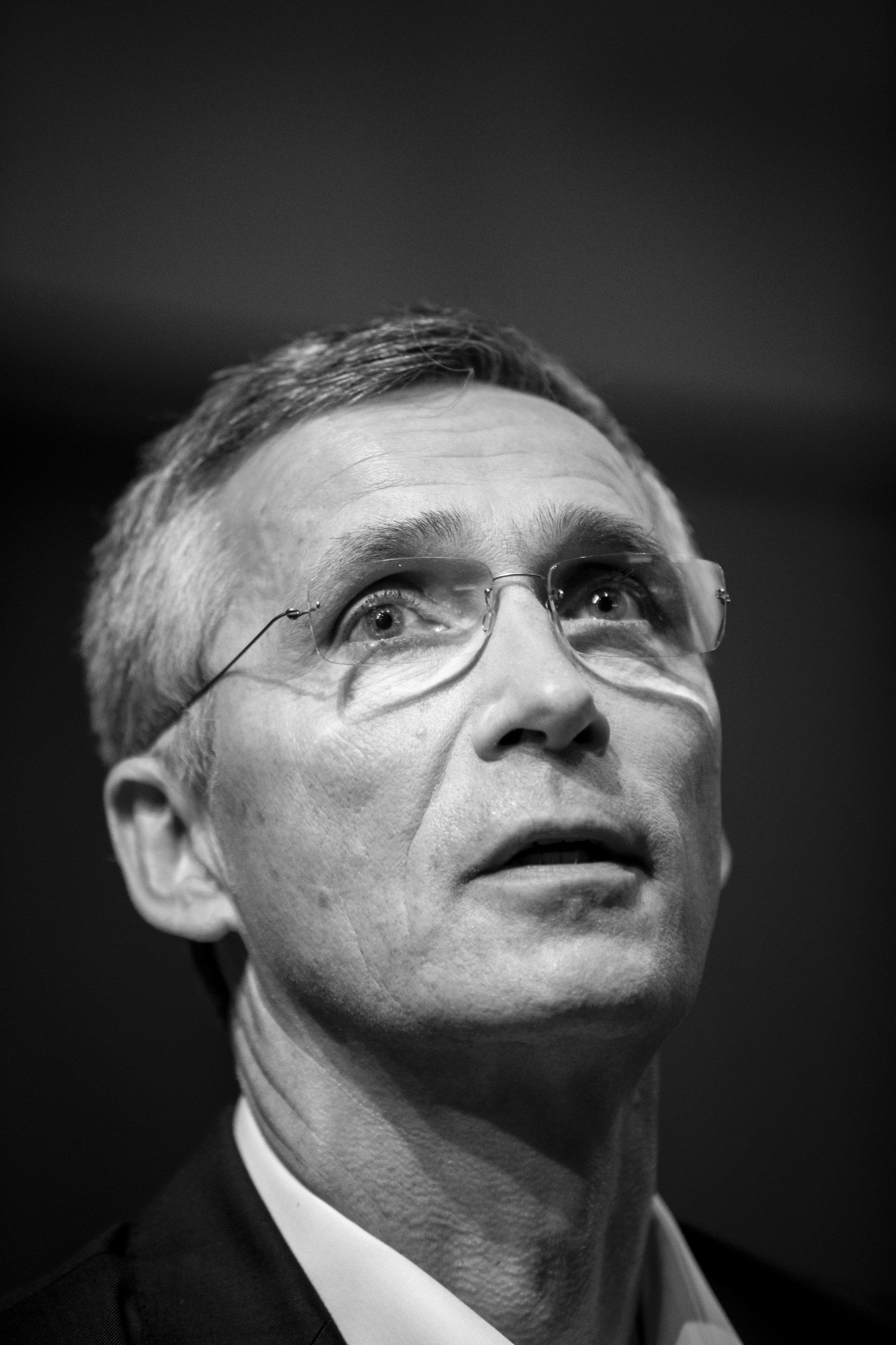 The Secretary General of NATO   Jens Stolenberg