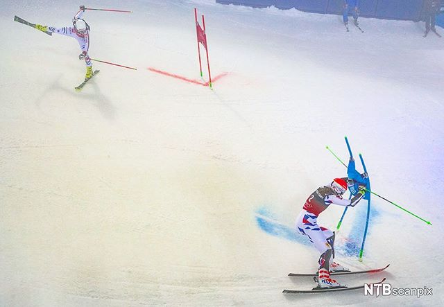 You are doing it wrong! Parallel Slalom World cup. #OnAssigment #NTBscanpix