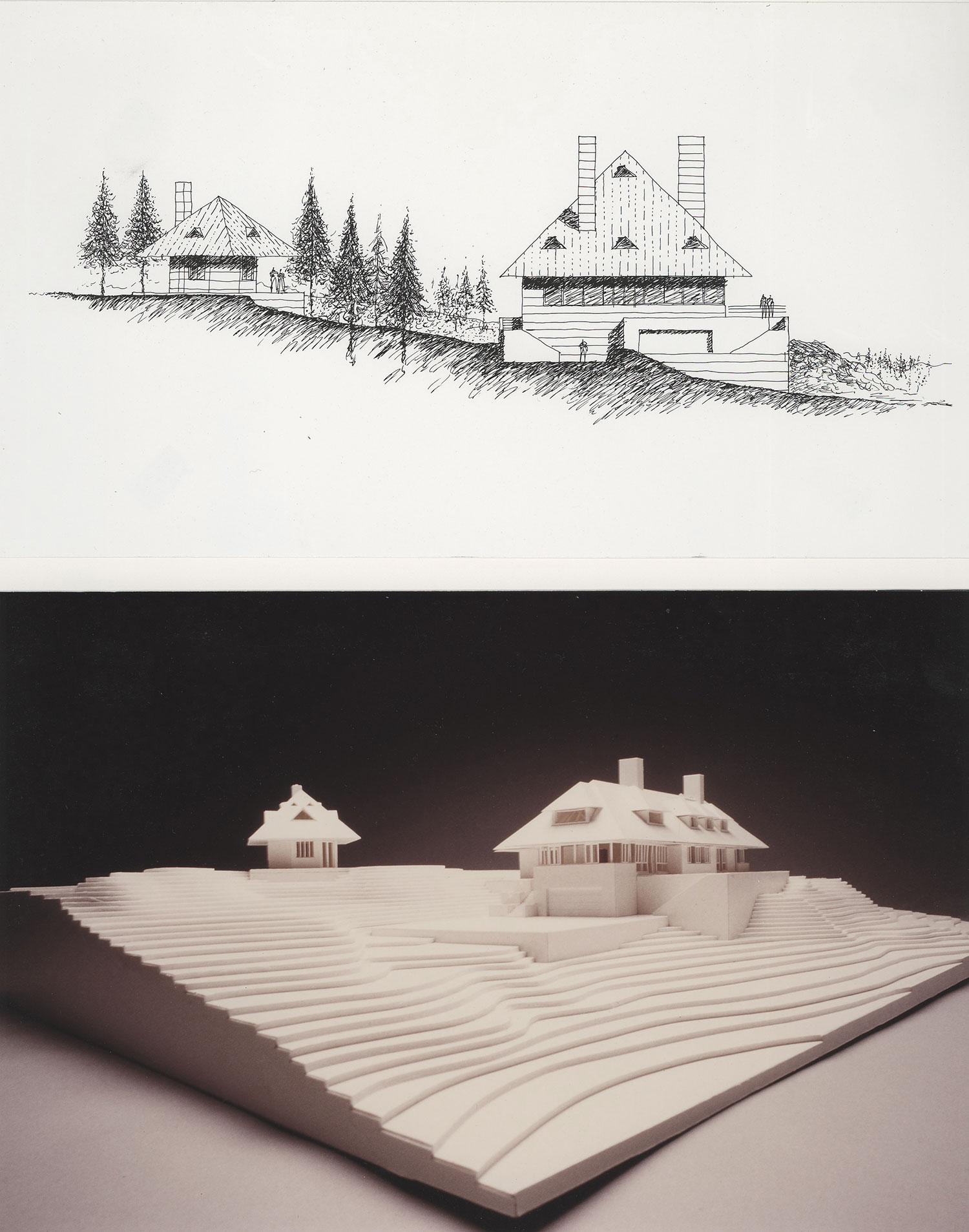 ARCHITECTURAL INTERNSHIP 2004 - 2007  Frank Welch & Associates – Dallas, Texas    Colorado Mountain House   Project Team Member
