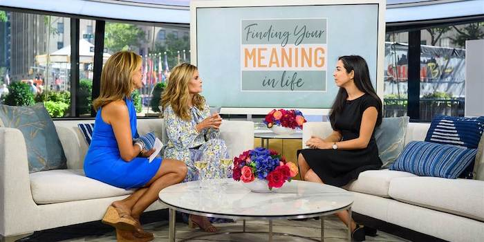 How to Find Deeper Meaning and Fulfillment in your life    — on The TODAY Show speaking about my book    THE POWER OF MEANING   .
