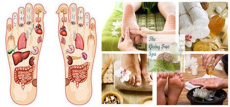Foot reflexology Massage, Touche spa Pune