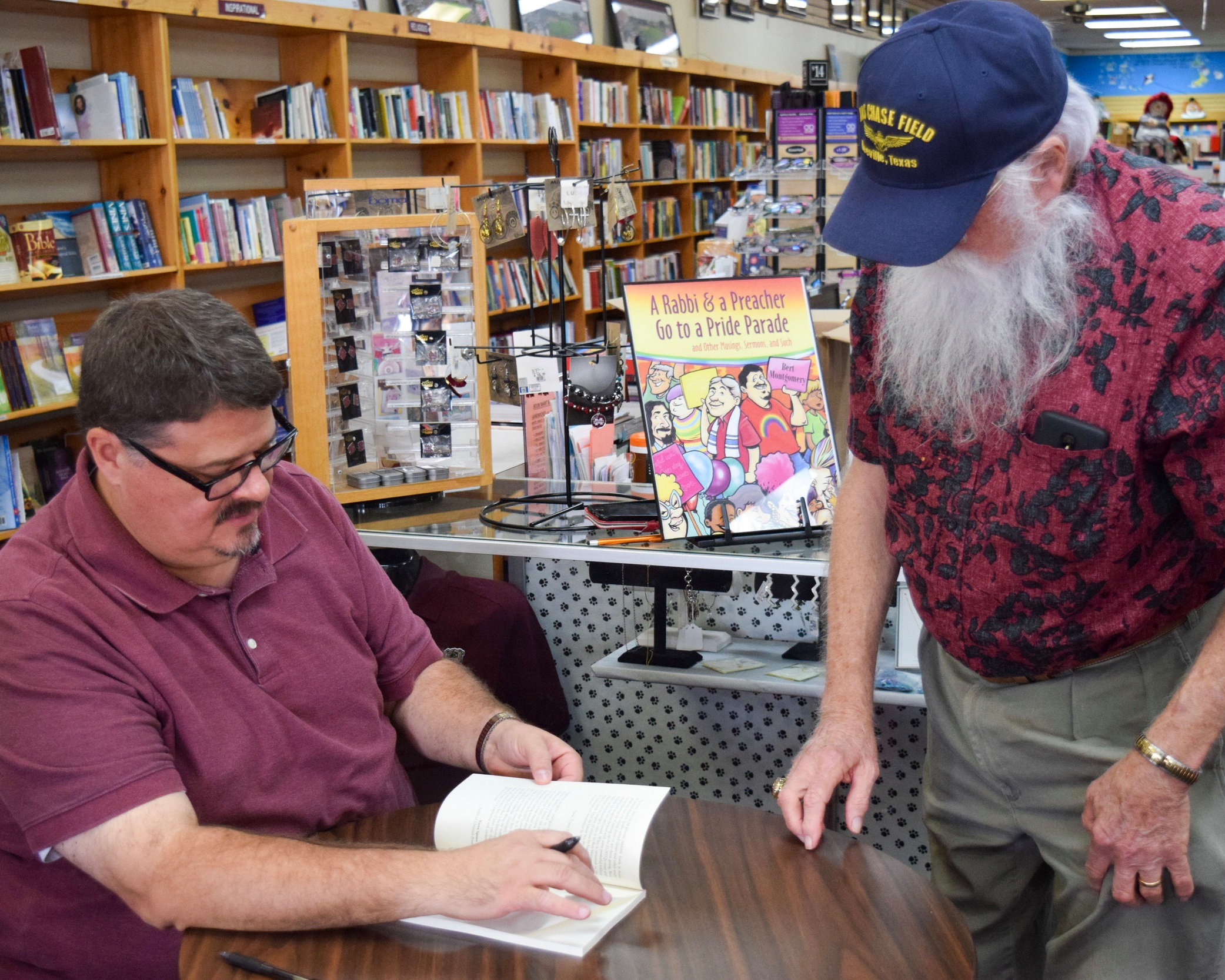 Book signing at BookMart & Cafe, Starkville, MS