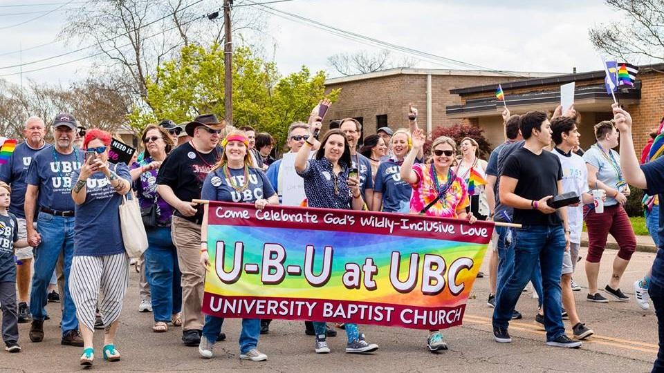 University Baptist Church, Pride 2018