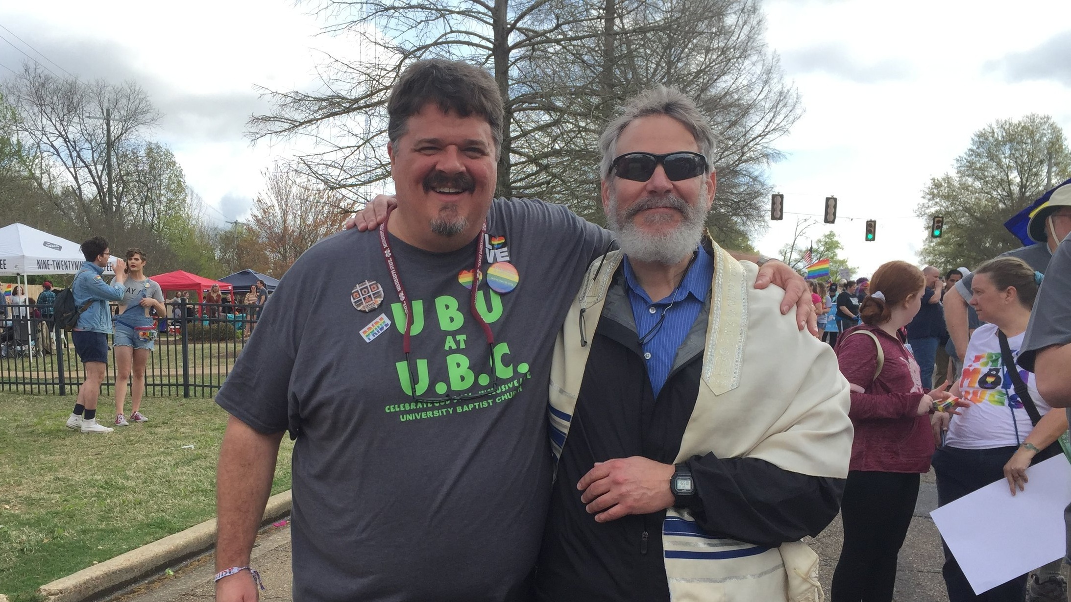 w/ Rabbi Seth, Pride 2019