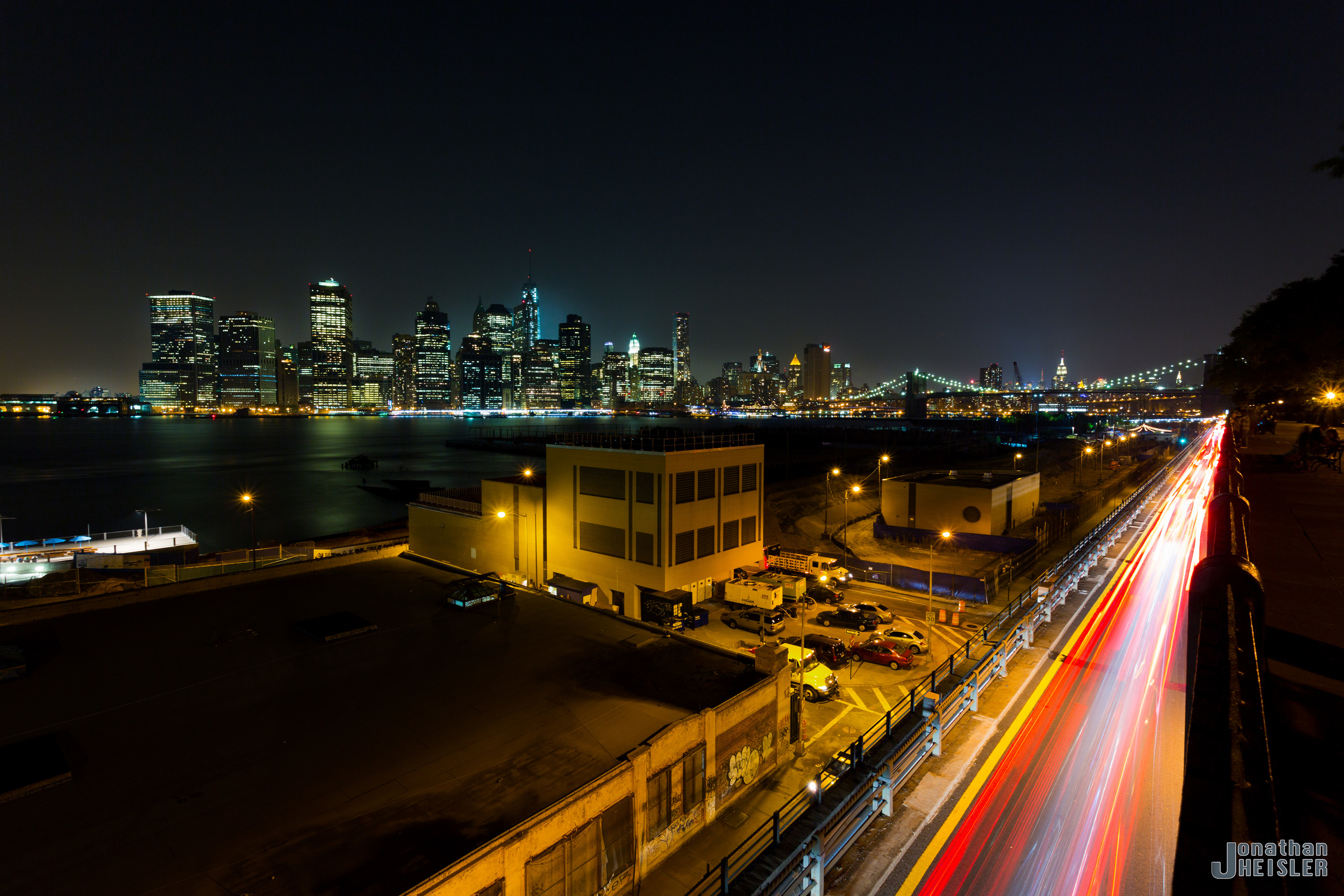 View of Lower Manhattan from the Brooklyn Promenade