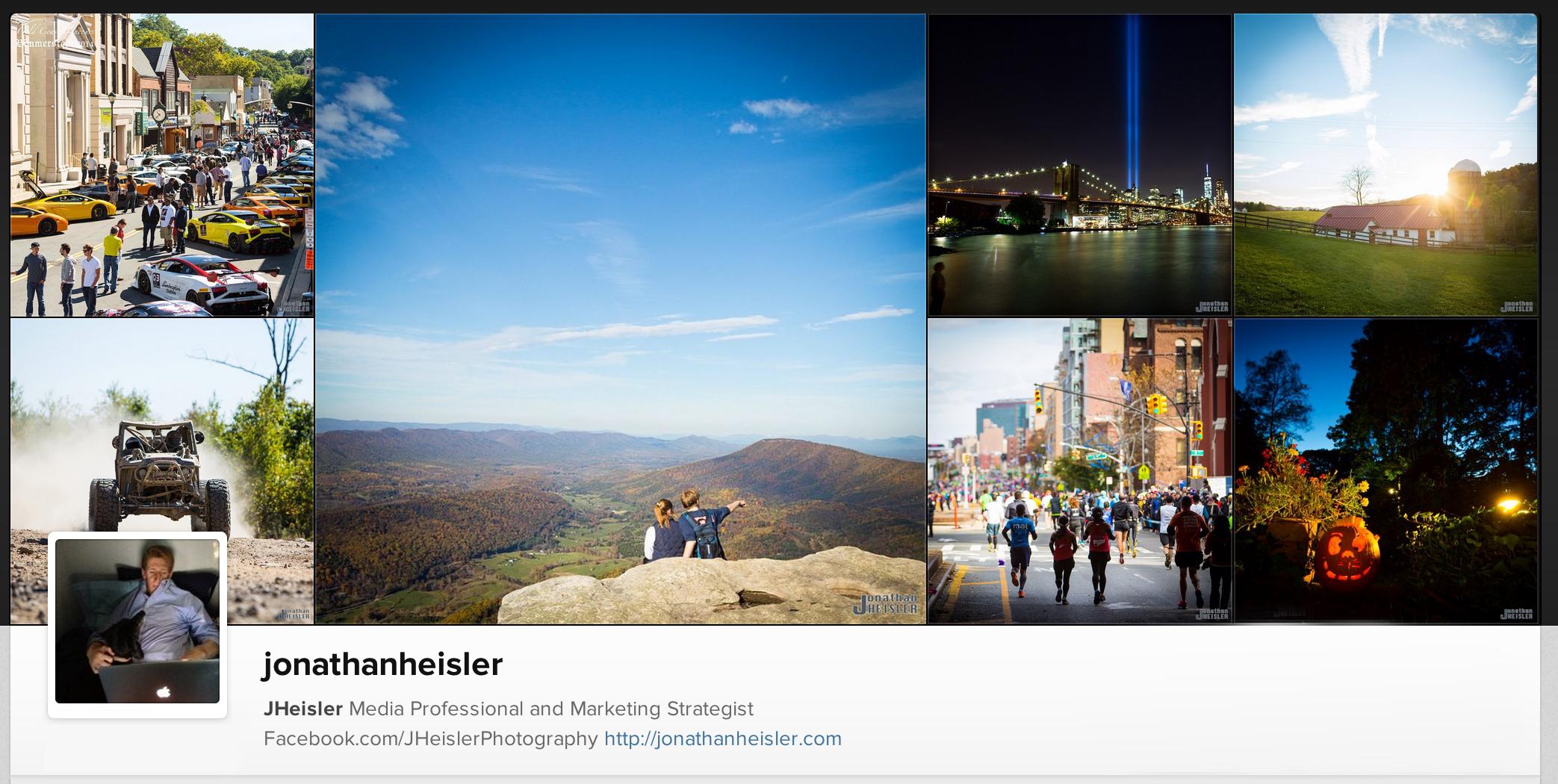 Jonathan Heisler Instagram