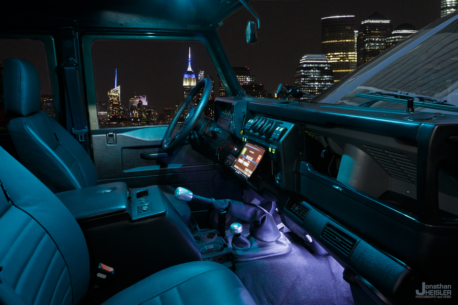 Land Rover Defender 110 New York City